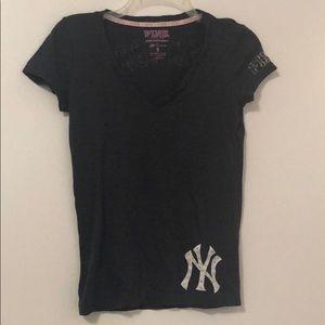 Victoria's Secret Pink Yankees T-shirt